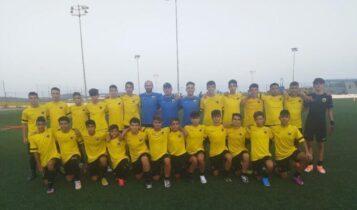 ΑΕΚ Κ15: Φιλική νίκη με 2-1 επί του Πανιωνίου