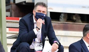 Ζαγοράκης για το -6 στον Αρη: «Απόφαση άδικη για το ίδιο το ποδόσφαιρο»