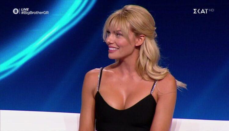 Η Ιωάννα Μαλέσκου εντυπωσίασε στο πλατό του Big Brother (VIDEO)