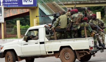 Στρατιωτικό πραξικόπημα στην Γουινέα -Αγωνία για ποδοσφαιριστές του Ολυμπιακού