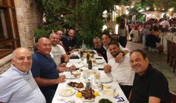 ΑΕΚ: Δείπνο του Σταμάτη Παπασταμάτη σε Ανόρθωση και Μέταλουργκ! (ΦΩΤΟ)