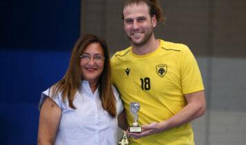 ΑΕΚ: Ο Μόγια MVP του τουρνουά «Α. Παπασταμάτης»