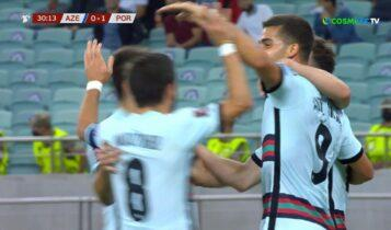 Αζερμπαϊτζάν-Πορτογαλία: Ο Αντρέ Σίλβα το 0-2 (VIDEO)