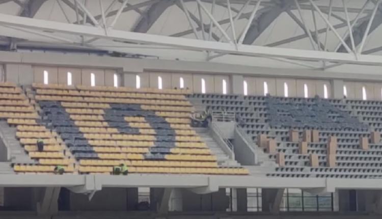 Εταιρία-«κολοσσός» που έχει... ντύσει «Καμπ Νου» και «Σαντιάγκο Μπερναμπέου» βάζει τα καθίσματα στην «ΟPAP Arena»!