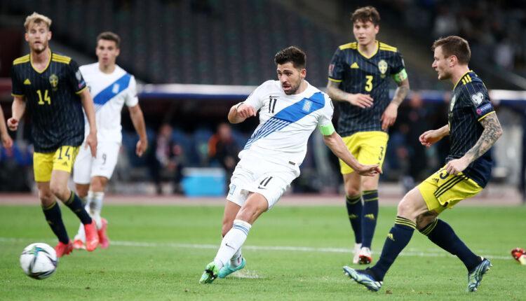 Ελλάδα-Σουηδία: Τρομερό γκολ Μπακασέτα για το 1-0! (VIDEO)