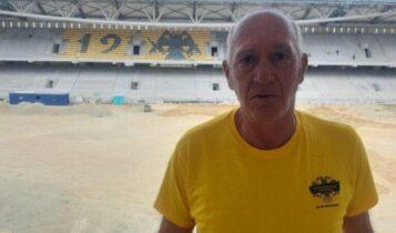 OPAP Arena: Ο τεράστιος Χρήστος Αρδίζογλου στην Αγιά Σοφιά! (ΦΩΤΟ)