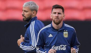 Αγουέρο: «Θέλω να παίξουμε αντίπαλοι με τον Μέσι στο Champions League»