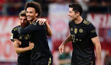 Bundesliga: Πάρτι της Μπάγερν (1-4) επί της Λειψίας (VIDEO)