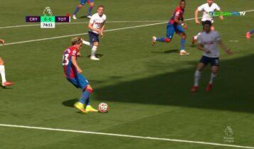 Κρίσταλ Πάλας-Τότεναμ: Το πρώτο γκολ που δέχθηκε η ομάδα του Σάντο στην φετινήPremier League (VIDEO)