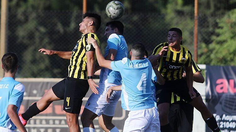 ΑΕΚ: Με γκολ του Σβίγκου η Κ17 νίκησε (0-1) τον Ιωνικό
