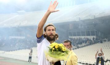Τσιγκρίνσκι: «Ευχαριστώ τον κόσμο -Δεν περίμενα ότι θα έφτανε η στιγμή που θα έπαιζα κόντρα στην ΑΕΚ»