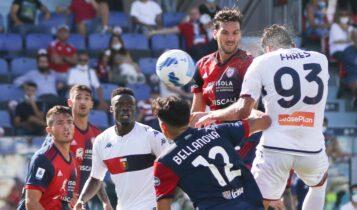 Serie A: Τεράστια ανατροπή και νίκη (2-3) για Τζένοα επί της Κάλιαρι (VIDEO)