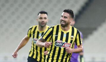 Λε Ταλέκ: «Χαρούμενος για το πρώτο γκολ με την ΑΕΚ -Ευχαριστούμε τον κόσμο» (ΦΩΤΟ)
