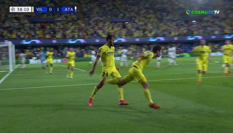 Βιγιαρεάλ-Αταλάντα: Ισοφάρισε σε 1-1 ο Τριγκέρος (VIDEO)