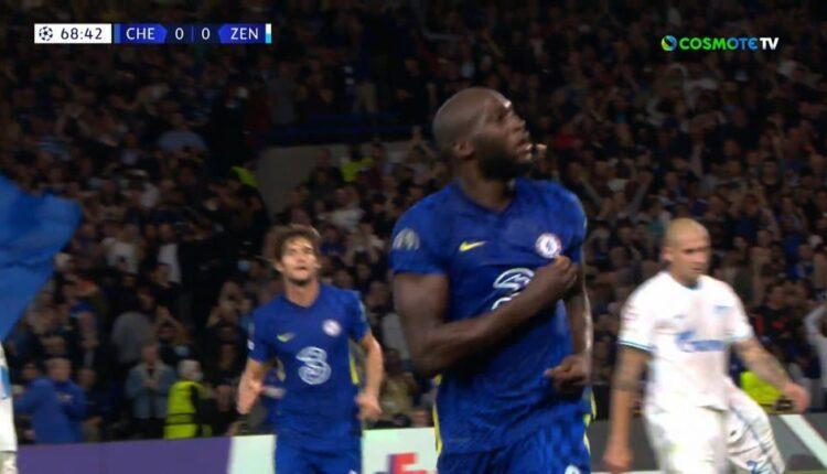 Τσέλσι-Ζενίτ: Απιαστος στον αέρα ο Λουκάκου και 1-0 (VIDEO)