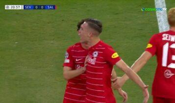 Σεβίλλη-Ζάλτσμπουργκ: Ανόητο πέναλτι Νάβας και 0-1 με Σούτσιτς (VIDEO)