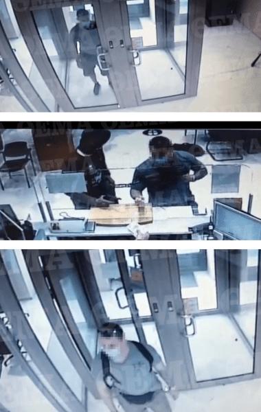 Φωτογραφίες-Ντοκουμέντο από τη ληστεία τράπεζας στη Μητροπόλεως