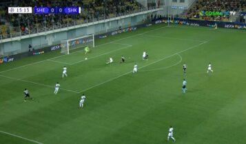 Σερίφ-Σαχτάρ: Ονειρικό ξεκίνημα για τους Μολδαβούς με γκολάρα του Τραορέ για το 1-0 (VIDEO)