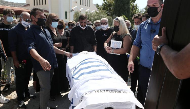 Συγκίνηση στο τελευταίο αντίο στον «Εθνικάρα»: Κηδεύτηκε με τη σημαία του Εθνικού
