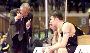 Θρήνος στο ευρωπαϊκό μπάσκετ: Εφυγε από τη ζωή ο Ντούσαν Ιβκοβιτς
