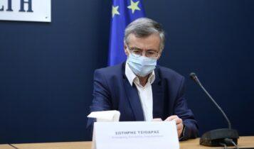 Τσιόδρας: «Θα χρειαστούν 3 με 4 χρόνια μετά την πανδημία για να αντιμετωπίσουμε τις επιπτώσεις»