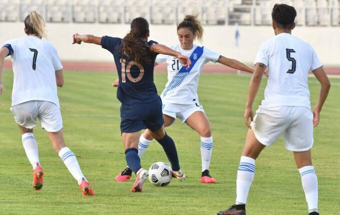 Ποδόσφαιρο Γυναικών: Η Ελλάδα έχασε 10-0 από τη Γαλλία