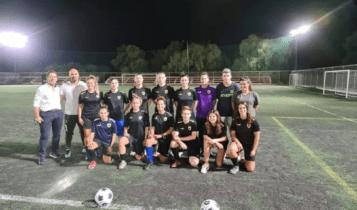 ΑΕΚ: Ιστορική πρώτη προπόνηση για την γυναικεία ομάδα ποδοσφαίρου (ΦΩΤΟ)