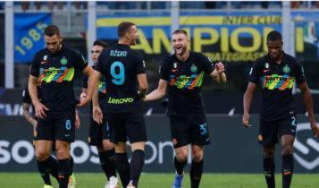 Serie A: Διέλυσε την Μπολόνια (6-1) η Ιντερ (VIDEO)