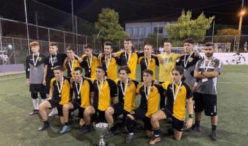 ΑΕΚ: Κατέκτησε το Super Cup η Κ-18 στο Futsal
