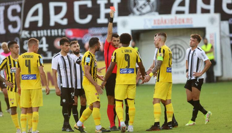 ΑΕΚ: Έξαλλοι Μιλόγεβιτς-Δημητριάδης πάνω στον Φωτιά!