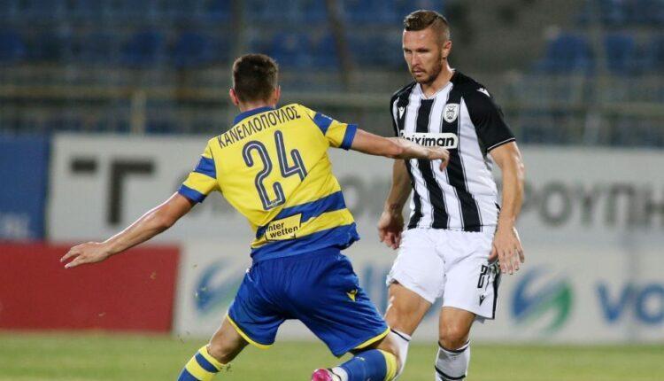 Δύσκολα τον Αστέρα Τρίπολης (0-1) ο ΠΑΟΚ