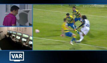 Αστέρας Τρίπολης-ΠΑΟΚ: Με πέναλτι του Βιεϊρίνια το 0-1 (VIDEO)