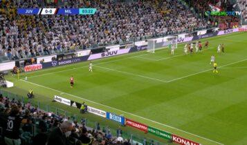 Γιουβέντους-Μίλαν: Τρομερή κούρσα του Μοράτα για το 1-0 (VIDEO)