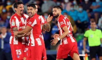 La Liga: Με ψυχή πρωταθλήτριας και λυτρωτή τον Σουάρες η Ατλέτικο (1-2) στην έδρα της Χετάφε