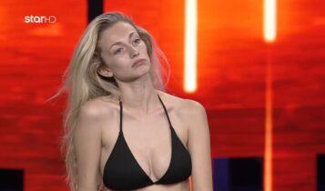 GNTM: Η σωσίας της Τζούλιας Αλεξανδράτου άφησε άφωνους κριτές (VIDEO)
