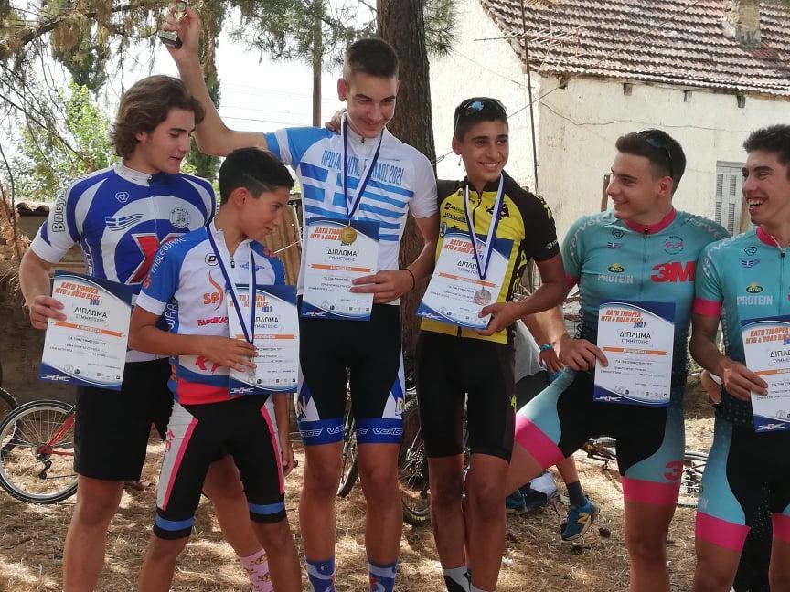 ΑΕΚ: Σάρωσαν τα μετάλλια οι ποδηλάτες του «Δικεφάλου» (ΦΩΤΟ)