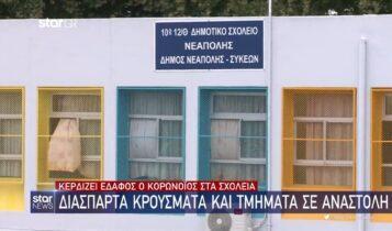 Κορωνοϊός: Διάσπαρτα κρούσματα σε σχολεία και τμήματα σε αναστολή (VIDEO)