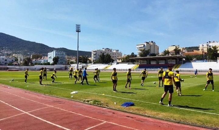 ΑΕΚ Β': Με 20 παίκτες στη Μυτιλήνη για το αυριανό φιλικό με τον Αιολικό (ΦΩΤΟ)