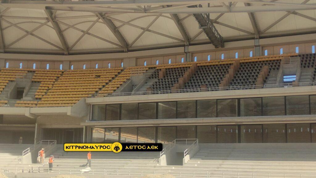 Μαγεία και ΔΕΟΣ: Κιτρινίζει η «OPAP Arena», γεμίζει με καθίσματα! (ΦΩΤΟ-VIDEO)