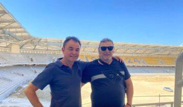 Πίττας-Βασιλόπουλος στην «OPAP Arena»!
