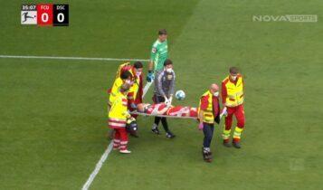 Σοκαριστικός τραυματισμός στο Ουνιόν Βερολίνου-Αρμίνια Μπίλεφελντ! (VIDEO)
