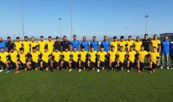 ΑΕΚ Κ17: Διέλυσε με 2-6 τον ΟΦΗ στην Κρήτη