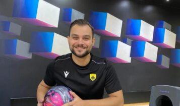 ΑΕΚ: Πρωταθλητής Ελλάδος στο Bowling ο Κριζίνης!