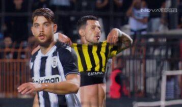 ΠΑΟΚ-ΑΕΚ: Τεράστια χαμένη ευκαιρία από τον Γέβτιτς! (VIDEO)