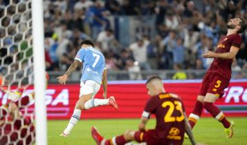 Η Λάτσιο πήρε το ντέρμπι της Ρώμης, 3-2 την Ρόμα (VIDEO)