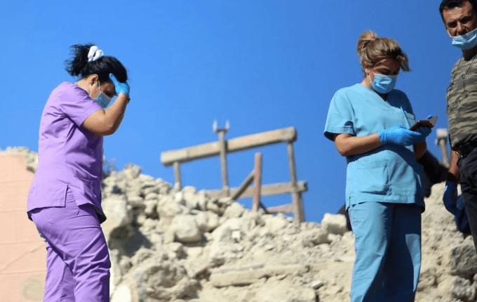 Σεισμός στo Ηράκλειο: Τραυματίας και ο γιος του νεκρού στο Αρκαλοχώρι