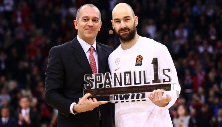 Γ. Αγγελόπουλος: «Έτσι φέραμε τον Σπανούλη στον Ολυμπιακό το 2010...»