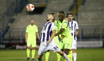 Απόλλων Σμύρνης-Ιωνικός 0-0: «Λευκή» ισοπαλία στη Ριζούπολη