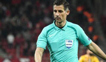 Σφυρίζει στο Champions League ο Σιδηρόπουλος