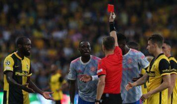 Μάντσεστερ Γιουνάιτεντ: Δυο αγωνιστικές εκτός στο Champions League ο Γουάν Μπισάκα